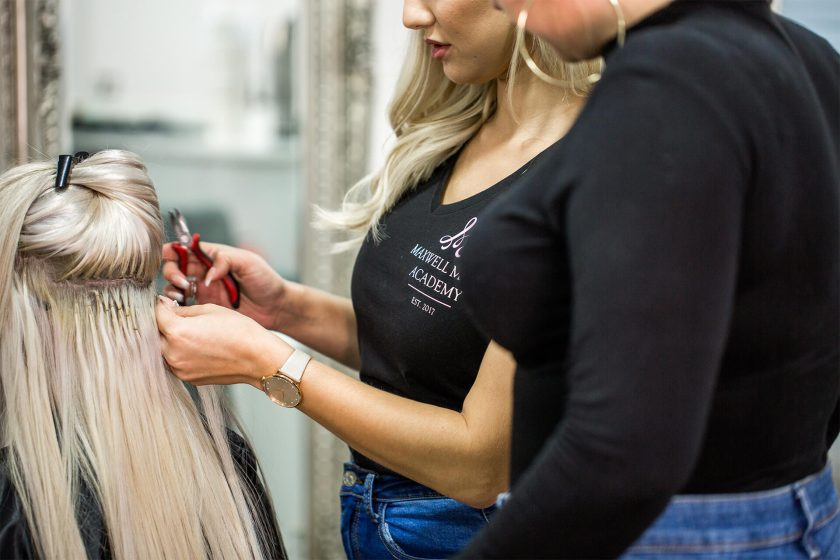 Maxwell Melia Hair Extension Refresher Training 2