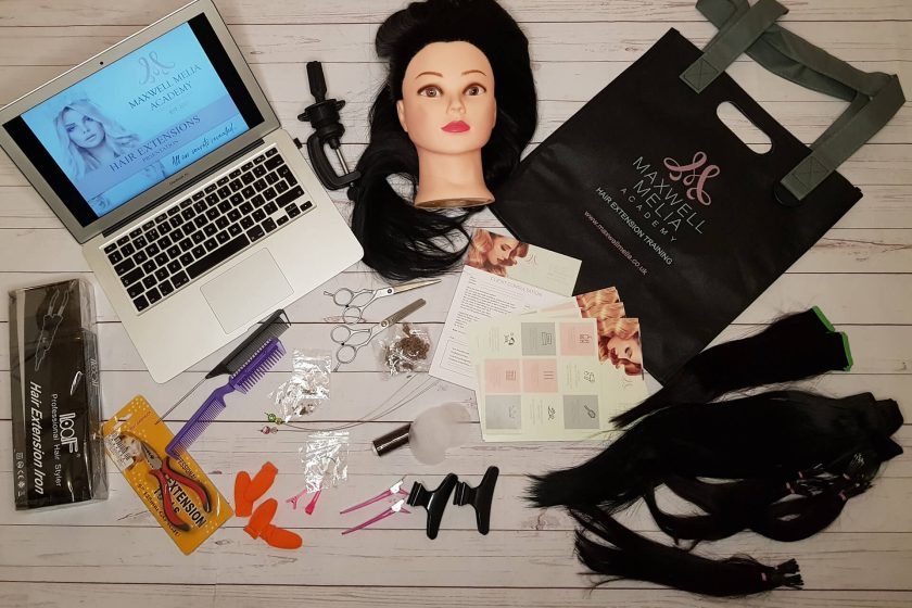 Online Hair Extension Training Complete Kit
