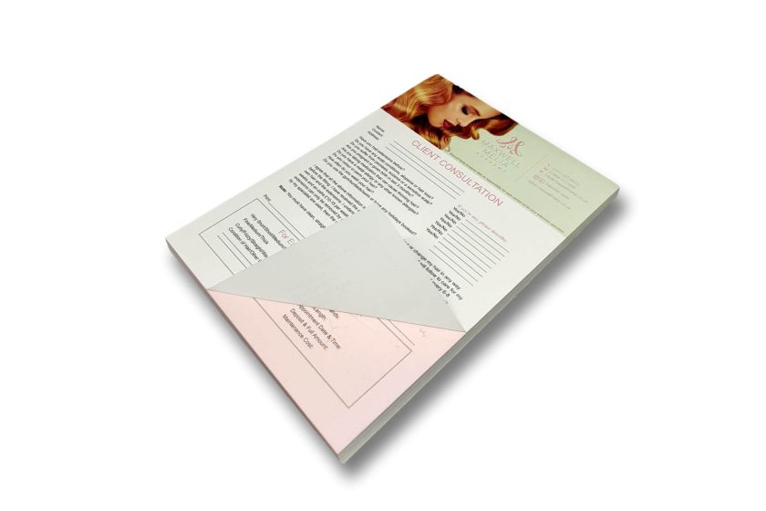 Hair Extensions Consultation Pads